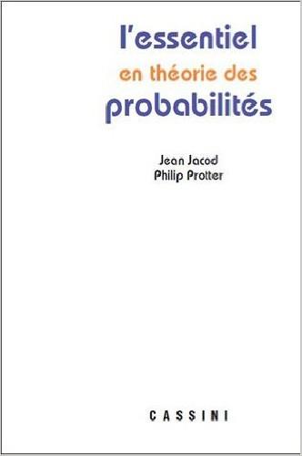 L'essentiel en théorie des probabilités