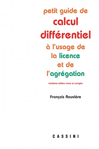 Petit guide de calcul différentiel (4e éd.)