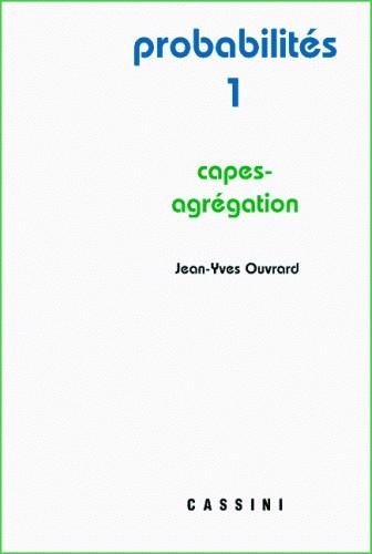 Probabilités I.  CAPES-agrégation