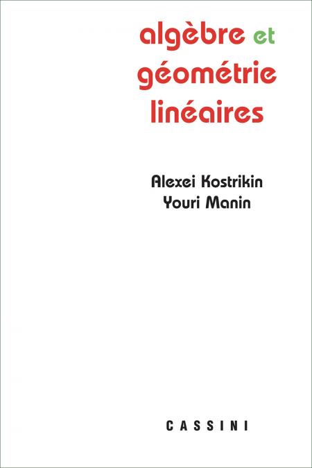 Algèbre et géométrie linéaires